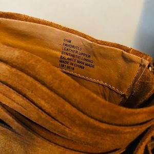 Nine West Shoes - Nine West Tan Suede Booties Size 6.5